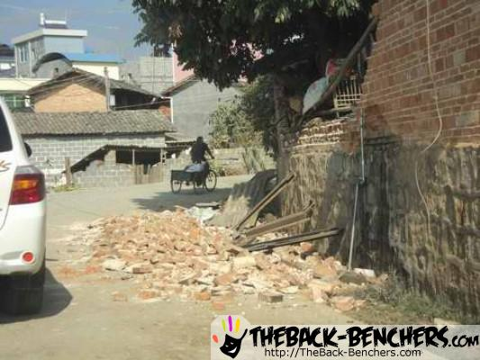 Earthquake in MYANMAR 2011