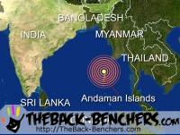 Earthquake in MYANMAR today at Thursday, March 24, 2011