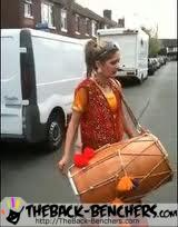Rihanna - Rude Boy songs  Punjabi Dhol mix by girl