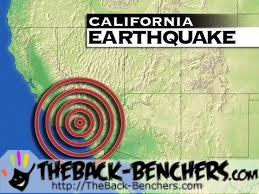 earthquake NORTHERN CALIFORNIA