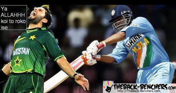 india v pak 2011 semifinal match funny pictures