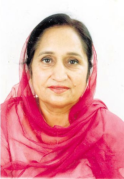 Bibi Surinder Kaur Badal Died in P.G.I Chd. Punjab Chief Minister Wife