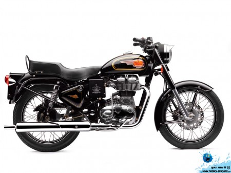 Royal Enfield standard-with  dics-wallpaper