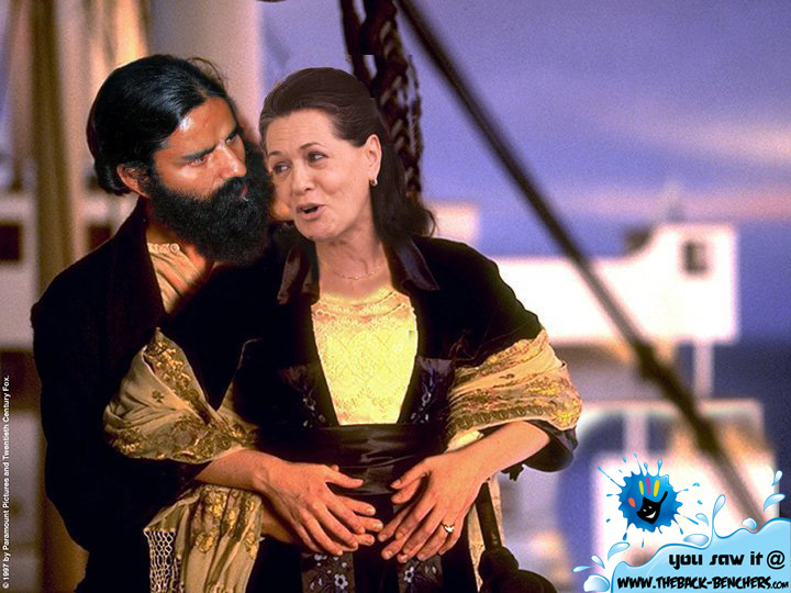 ... VS Sonia Gandhi and Manmohan Singh Photoshop edited funny images