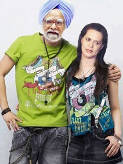 Funny Pictures Baba Ram dev, Anna hazare, Sonia Congress edited