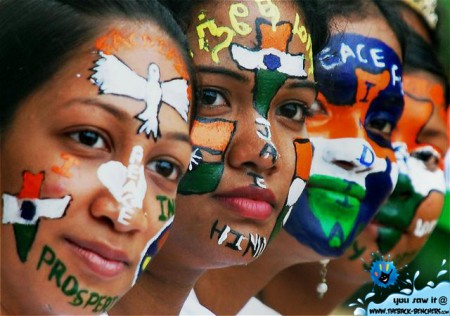 India Independence Day 15 August 2011
