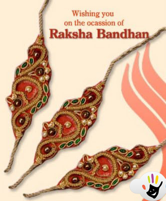Raksha Bandhan 2011 Beautiful Rakhi Designs