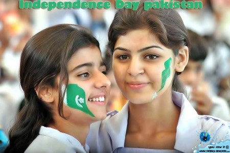 The Independence Day  Of Pakistan Beautifull girls