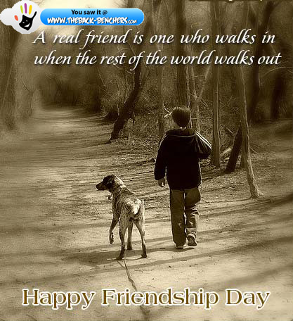 friendship day thanks quotes