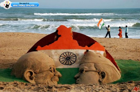 india independence day art picture