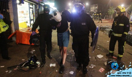 london roits pictures injured