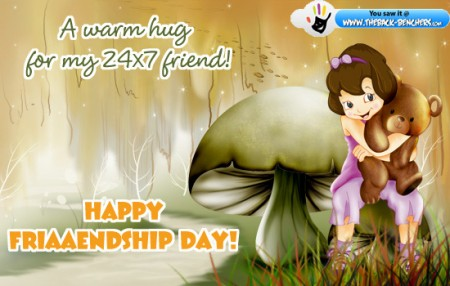 warn wishes friendship- day thanks