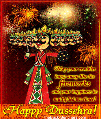 Dussehra SMS photo