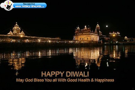 Golden Temple on Diwal photo