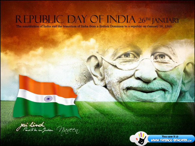 happy republic day wallpaper 2012