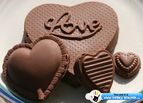 Happy Chocolate Day 2012 wallpaper and greetings