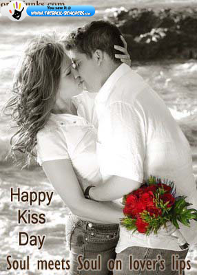Happy Kiss day photo