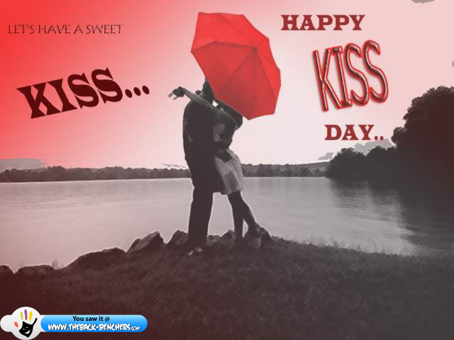 Happy kiss day 2012