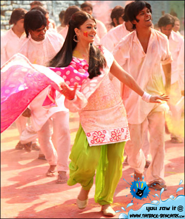 Aishwarya Rai happy holi 2012