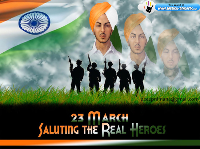 bhagat singh 2012 23 march