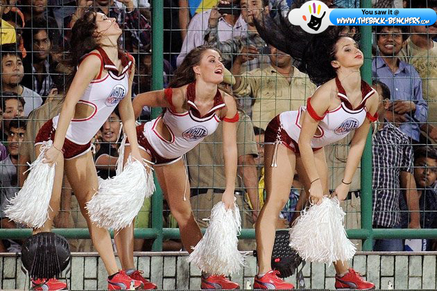 2012 ipl cheerleaders girls hot