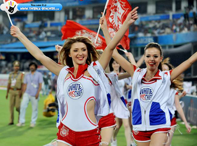 ipl season 5 cheerleaders girl
