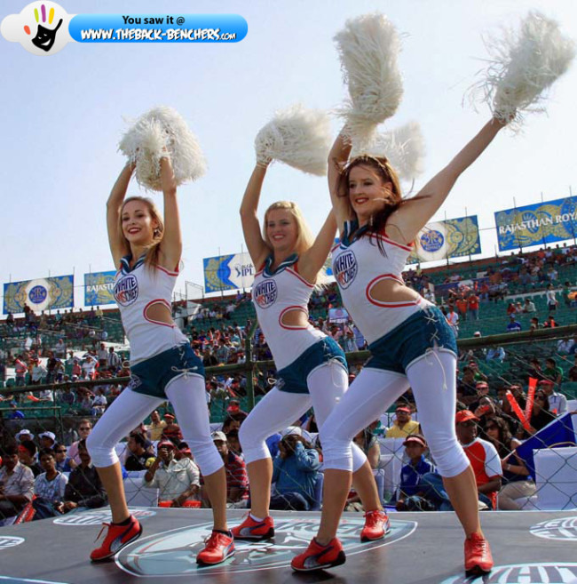 ipl season 5 hot cheerleaders girls