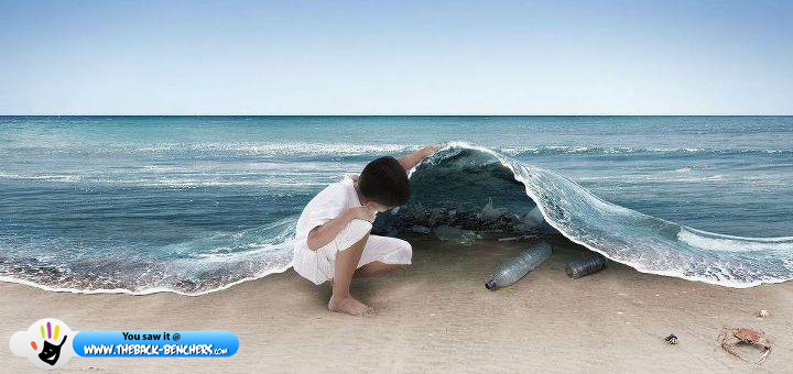 Stop Polluting  this is the future sea