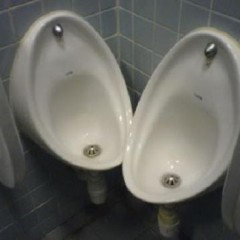 How two peoples use this toilet?