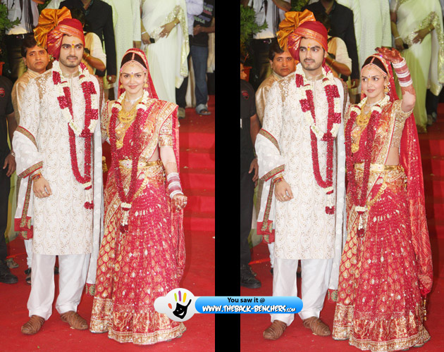 wedding of esha deol images