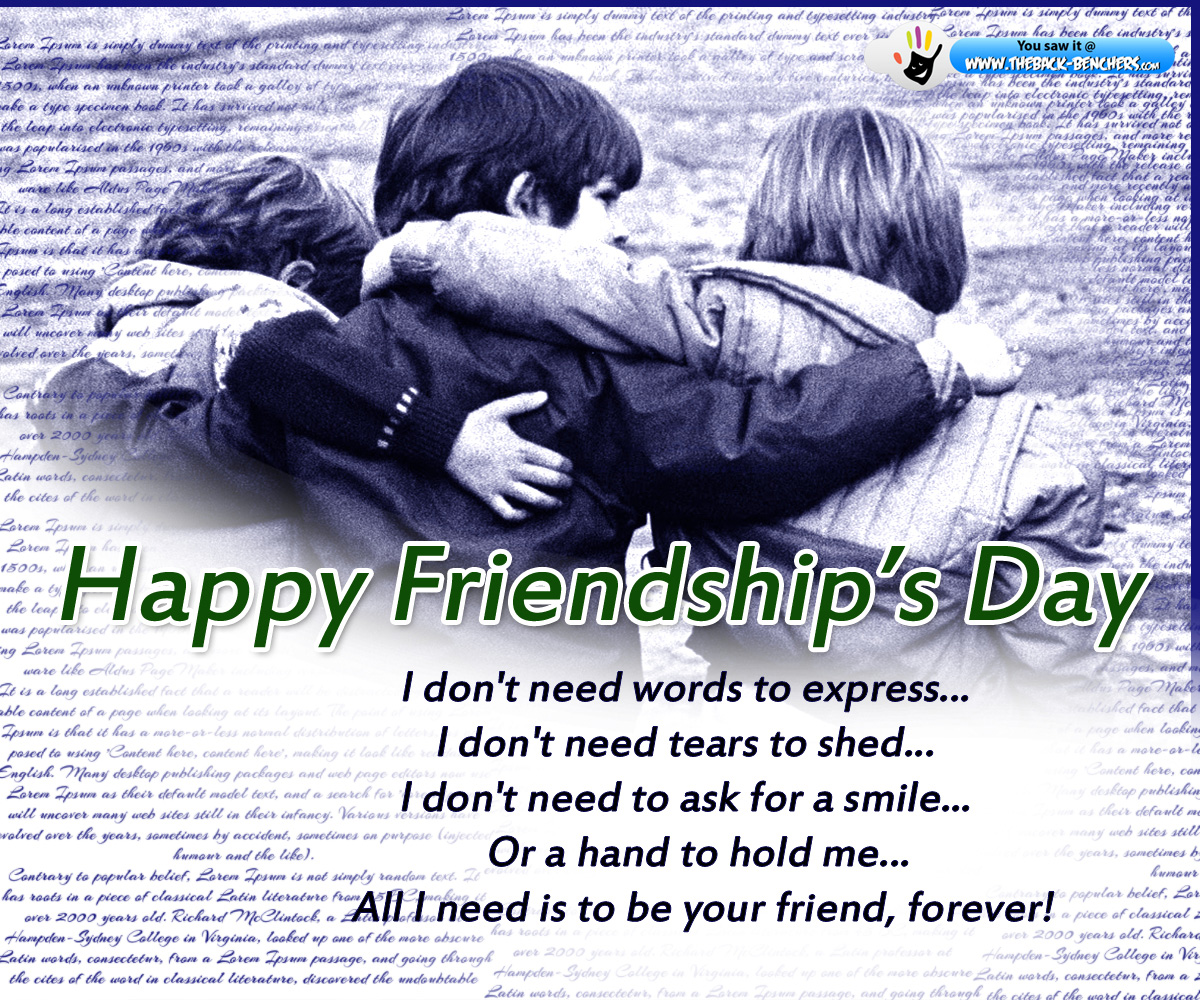 Happy Friendship Day Wallpapers Download