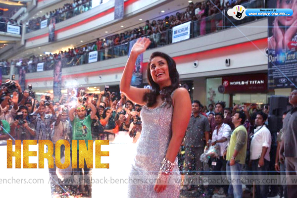 Heroine film promotion