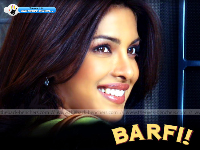 Priyanka Chopra barfi wallpapers