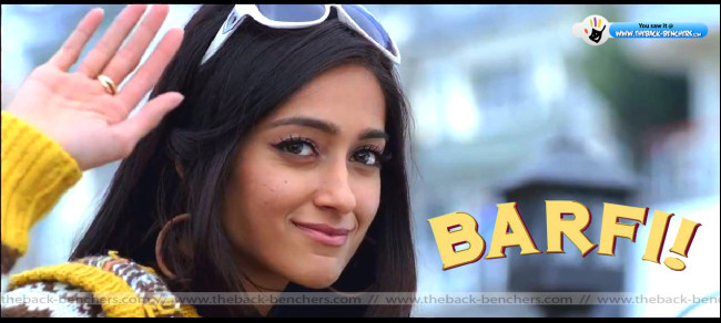 barfi movie Ileana D'Cruz