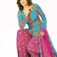 Punjabi Suits designs for girls 2012 Patiala salwar suits photos image
