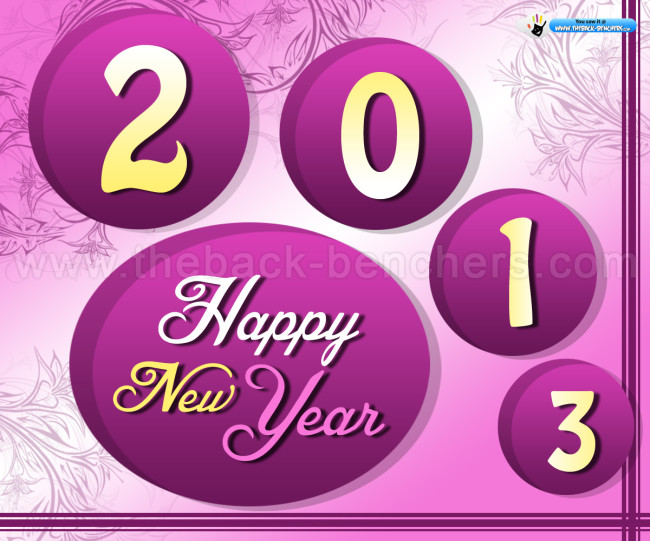 Happy new Year 2013 facebook