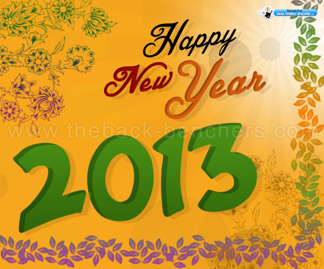 new year wishes 2013