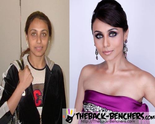 10 Bollywood Actresses Without Makeup- Real Face uncovered