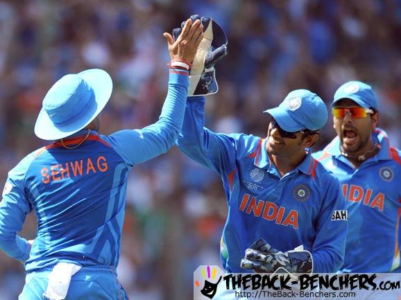 India World Cup 2011 match victory Celebration Pictures