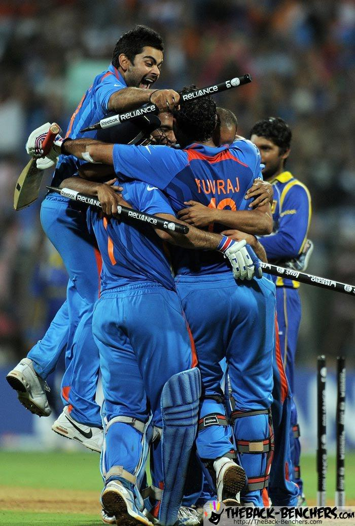 Part  2  World Cup 2011 india  Celebration Pictures