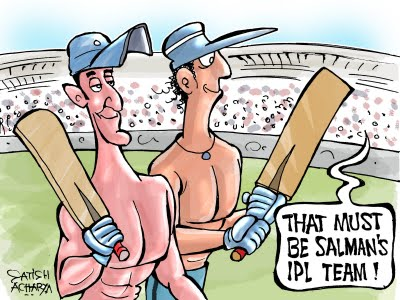DLF IPL T20 Funny Pictures and Quotes 2011
