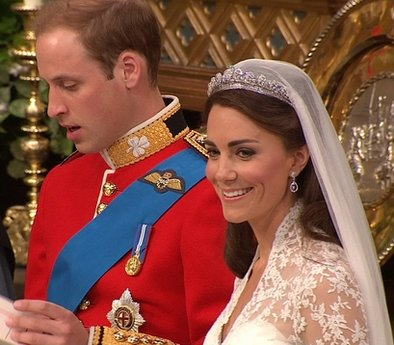 Latest Picture of Royal wedding Britain's Prince William 2011