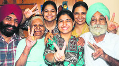 Chandigarh Girl Harsimar kaur Topped All India PMT exam