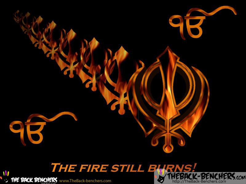 The Fire Still Burns! Khalsa